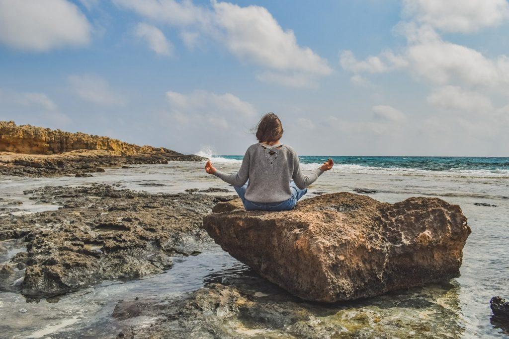 Meditation bei Depression