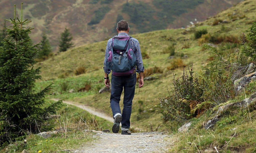 Motivationstief überwinden - Wandern