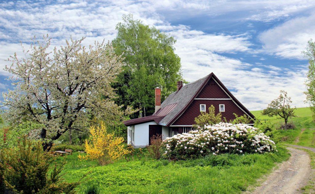 Garten - Haus