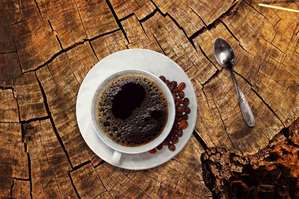 Schwarzer Kaffee - Fasten